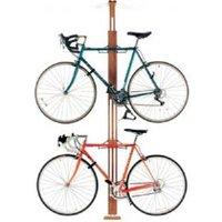 Gear Up Oakrak Floor-to-ceiling 2 To 4-bike Rack - Golden Pecan