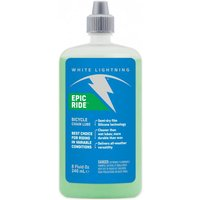 White Lightning Epic All Condition/semi Dry Lube 8oz/240ml