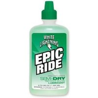 White Lightning Epic All Condition/semi Dry Lube 4oz/120ml