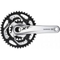 Shimano FC-M780 10-speed XT chainset HollowTech II silver