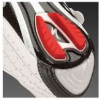Specialized Replacement Road Shoe Heel Lug Red/white