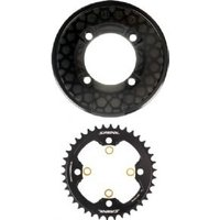 SM-CR81 Saint chainring and bash guard