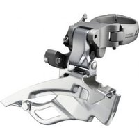 Shimano FD-T671 LX front derailleur down-swing dual-pull and multi fit 63-66 deg