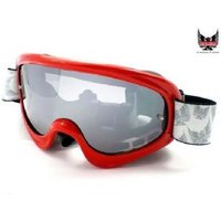 Dirty Dog Viper Mx/dh/snow Goggle Red Free Tear Offs