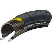 Continental Grand Prix 700 X 23c Black / Black Black Chili - Folding- With Free Tube