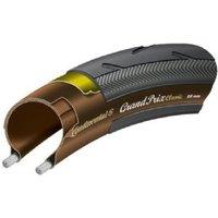 Continental Grand Prix Classic 700 X 25c Black - Black Chili - Folding With Free Tube