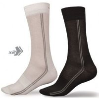 Endura Coolmax Long Socks Twin Pack