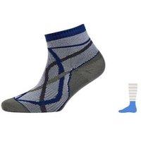 Sealskinz Thin Socklet Waterproof Sock GREY/BLUE