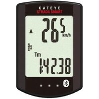 Cateye Strada Smart Cycling Computer With Speed / Cadence And Heart Rate