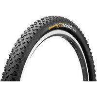 "Continental X-king Racesport 27.5 X 2.4"" Black Chili Folding Tyre With Free Tube"