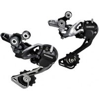 Shimano Rd-m615 Deore 10-speed Shadow+ Design Rear Derailleur