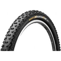 Continental Mountain King 2 Protection 29 X 2.4 Inch Black Chili Folding Tyre With Free Tube