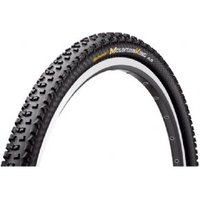 "Continetal Mountain King 2 Protection 27.5 X 2.2"" Black Chili Folding Tyre With Free Tube"