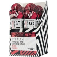 Stealth Energy Gel With Caffeine And Betaine - Berry - 60ml X 7 Sachets