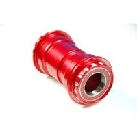 Wheels Manufacturing Pressfit 30 To Outboard Bottom Bracket Ac Bearings - Sram Compatible - Red