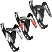 Elite Custom Race Plus Resin Bottle Cage - Black/red