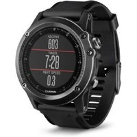 garmin fenix 3 sapphire wrist hr grey with black band