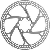 Aztec Stainless Steel Fixed Disc Rotor With Circular Cut Outs 203mm