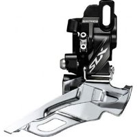 Shimano Slx M7005-d Triple 10-spd Front Derailleur Direct Mount Down Swing Dual-pull