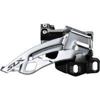 Shimano Slx M7005-e Triple 10-spd Front Derailleur E-type Mount Top Swing Dual-pull