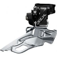 Shimano Slx M7005-h Triple 10-speed Front Derailleur High Clamp Down Swing Dual-pull