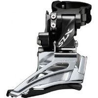 Shimano Slx M7025-h Double 11-speed Front Derailleur High Clamp Down Swing Dual-pull