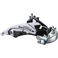 Shimano Fd-ty500 Mtb Front Derailleur Top Swing Dual-pull And Multi Fit For 42t