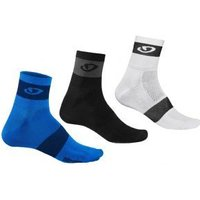 Giro Comp Racer Cycling Socks 3 Pack 2017