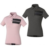 Shimano Transit Polo Short Sleeve Womens Jersey