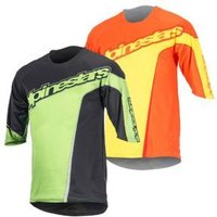 Alpinestars Crest 3/4 Sleeve Jersey Medium Only