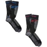 Alpinestars Thermal Socks Large - Black/red