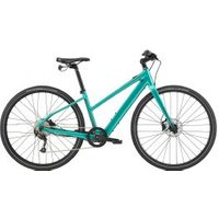 Cannondale Quick Neo Sl 2 Remixte Step-through Hybrid Electric Bike  2020 Large - Turquoise