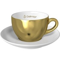 Cappuccinotasse gold