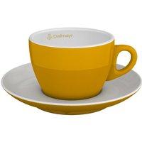Cappuccinotasse gelb