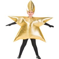 'Gold Star Costume Child One Size