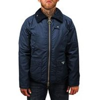 Bedale Wax Jacket In Navy