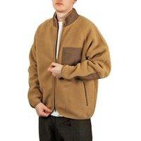 Boa Fleece Jacket In Beige