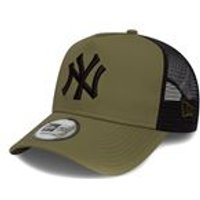 League Essential Trucker In New York Yankees Olive