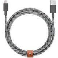 Belt Cable XL 3m Lightning In Zebra