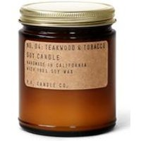 No. 04 Teakwood & Tobacco 7.2 oz Soy Candle