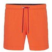 Medium Drawstring Single Colour In Spicy Orange