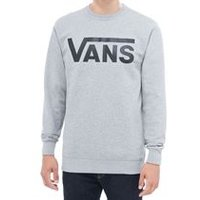 Vans Classic Crew In Concrete Heather-Black