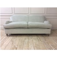 Product photograph showing Lincoln 3 5 Seater Sofa Bed In Easy Clean Plush Velvet Twilight