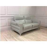 Product photograph showing Orlando 2 Seater Electric Recliner Sofa And Armchair In 10bz Italian Leather
