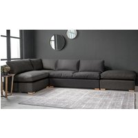 Edgware Medium Corner Sofa Bed with Footstool