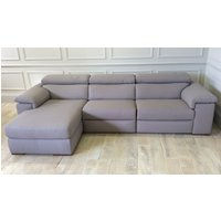 Product photograph showing Fabio Chaise Sofa - Left Or Right