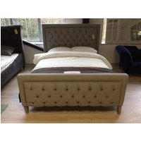 Glenroe Kingsize Bed Frame Brushed Cotton Harbour Storm 22
