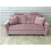 Alexi 3 Seater Sofa Bed With Straight Arms