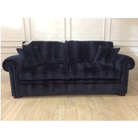 Duresta Waldorf 3 Seater Sofa Bed in Flavia Sapphire Velvet (R9)