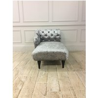 Product photograph showing Headly Chaise Lounge In Indulgence Fossil